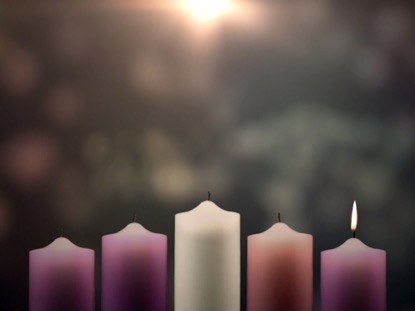 ADVENT CANDLES HOPE WEEK 1