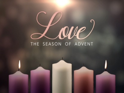 ADVENT CANDLES LOVE