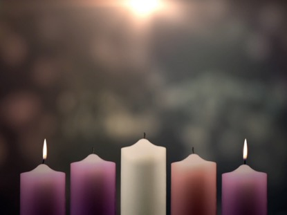 ADVENT CANDLES LOVE WEEK 2