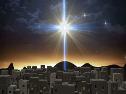 BETHLEHEM CHRISTMAS CITY LARGE STAR