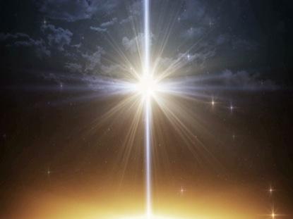 Bethlehem Christmas Large Star Sky Life Scribe Media