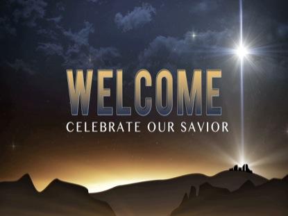 BETHLEHEM CHRISTMAS WELCOME STATIC