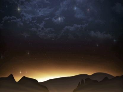 BETHLEHEM SKY LANDSCAPE