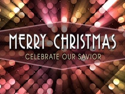 BRIGHT LIGHTS CHRISTMAS MERRY CHRISTMAS