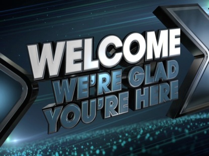 CHEVRON WELCOME ANIMATED
