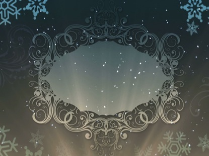 CHRISTMAS BACKGROUND ELEGANCE BLANK