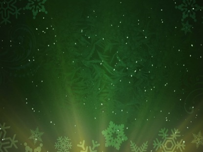 CHRISTMAS BACKGROUND SNOW GREEN