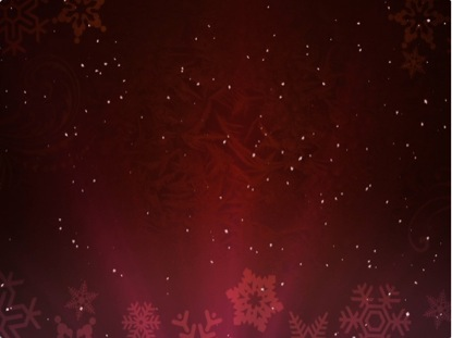 CHRISTMAS BACKGROUND SNOW RED