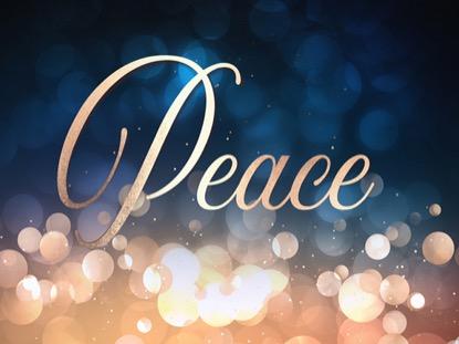 CHRISTMAS BOKEH PEACE