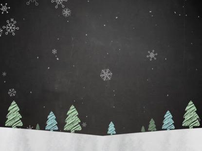 CHRISTMAS CHALK KIDS 2