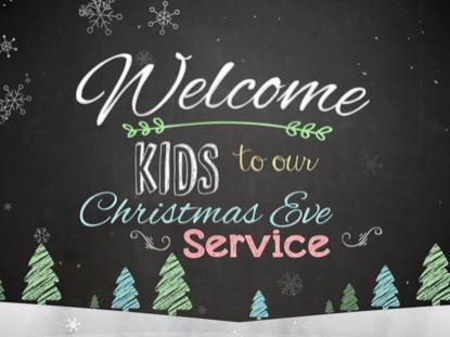 CHRISTMAS CHALK KIDS CHRISTMAS EVE