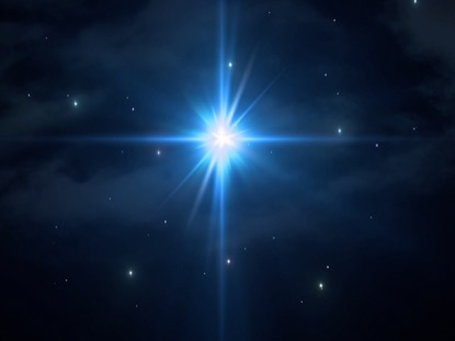 CHRISTMAS SAVIOR LARGE STAR SKY