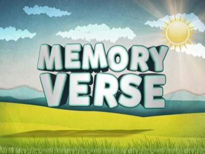 Easter Kids Memory Verse Life Scribe Media Motion Backgrounds
