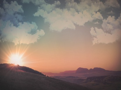 EASTER MORNING SKY 2