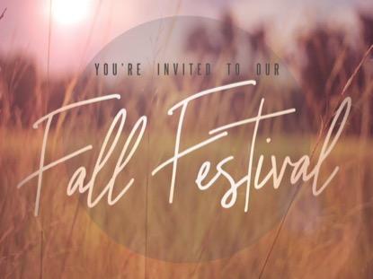 FALL FIELD FALL FESTIVAL