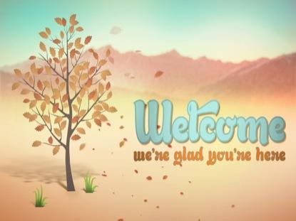 FALL FUN WELCOME
