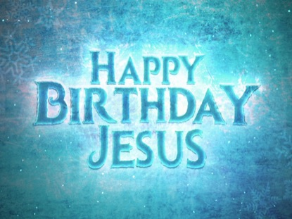FROSTED HAPPY BIRTHDAY JESUS