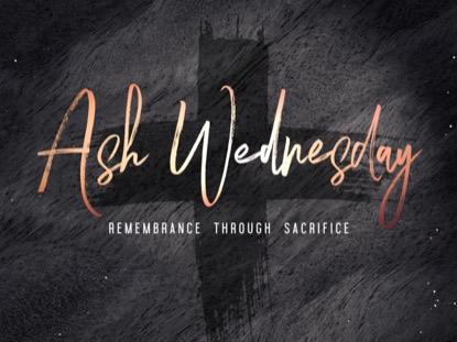 LENT ASH WEDNESDAY