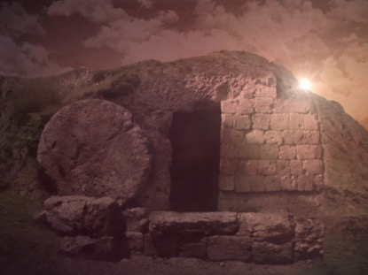 EASTER RISEN 2 TOMB EMPTY