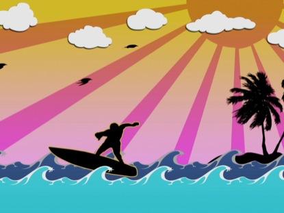 MEGA MOTION 18 SURFS UP