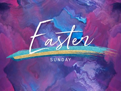 PAINTED EASTER SUNDAY
