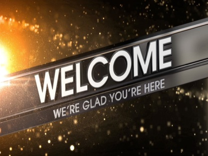 PARTICLE FUSION WELCOME ANIMATED