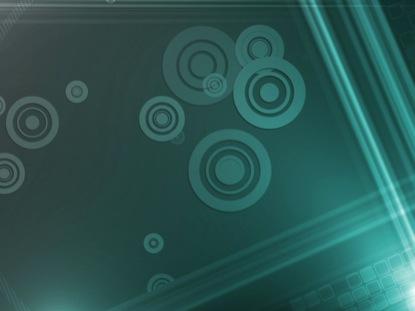RETRO CIRCLES LIGHT BLUE