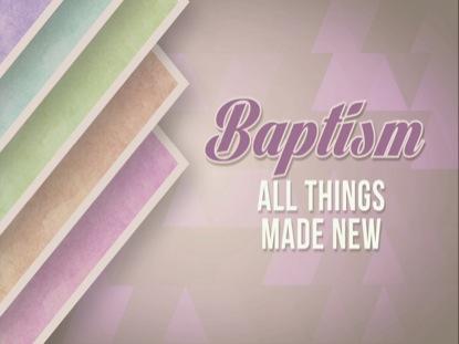 SPRING PASTEL BAPTISM