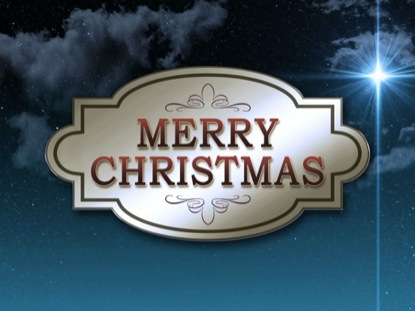 STAR MERRY CHRISTMAS