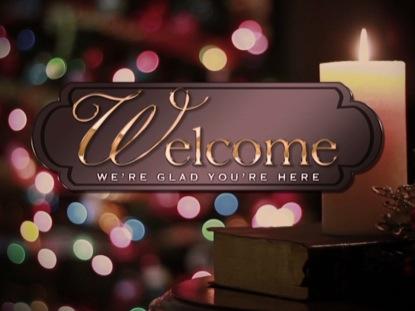 Welcome Christmas.Traditional Christmas Welcome 1