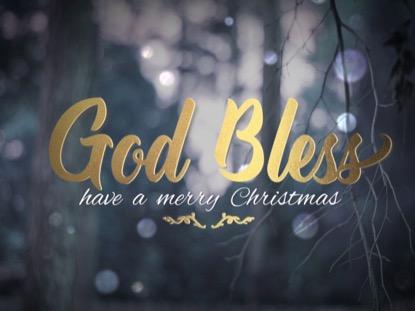WINTER BOKEH CHRISTMAS CLOSE