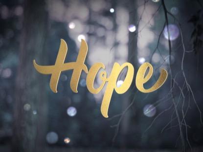 WINTER BOKEH HOPE ADVENT