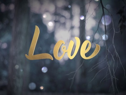 WINTER BOKEH LOVE ADVENT