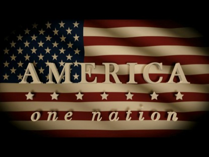 AMERICA ONE NATION UNDER GOD