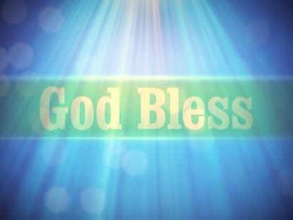 CELESTIAL LIGHT GOD BLESS