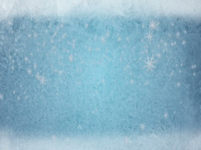 FROSTED BLUE SNOWFLAKES