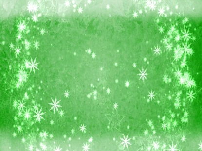 FROSTED GREEN SNOW RING