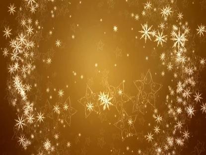 GOLDEN SNOW RING