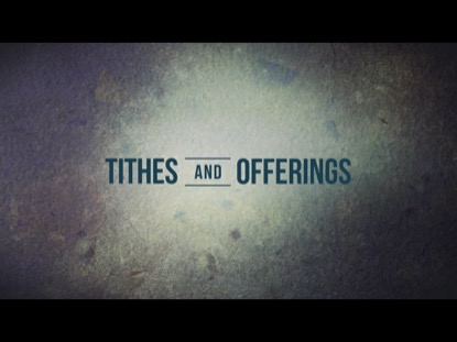 MORE THAN A MAN TITHES