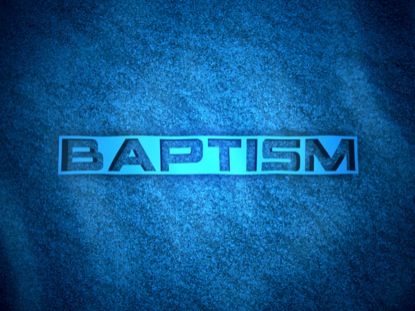 BAPTISM WATER RIPPLES LOOP