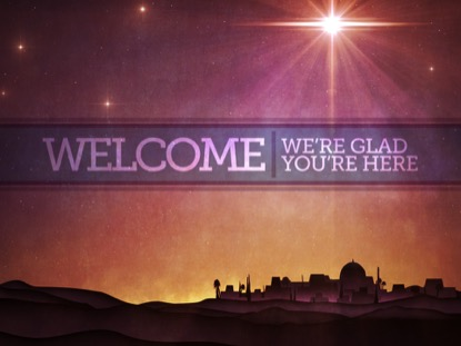 BETHLEHEM STAR WELCOME