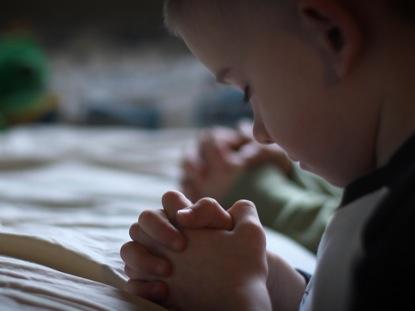 CHILD BEDTIME PRAYER