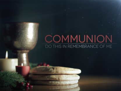 CHRISTMAS COMMUNION CANDLES TEXT