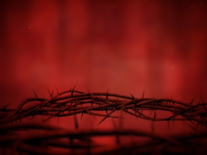 Crown Of Thorns Red Spin Motion Worship Worshiphouse Media