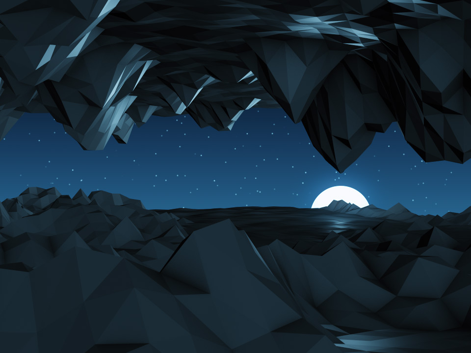 DIGITAL MOUNTAINS NIGHT CAVE