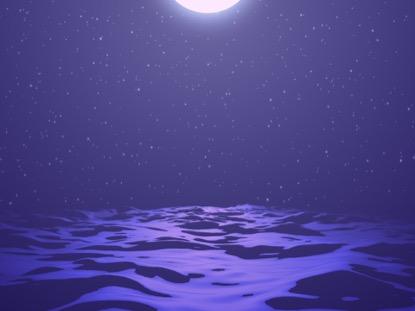 DIGITAL WAVES PURPLE NIGHT