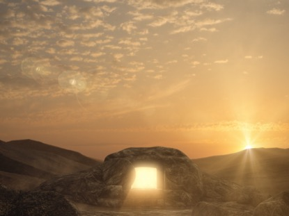 EASTER SUNRISE EMPTY TOMB