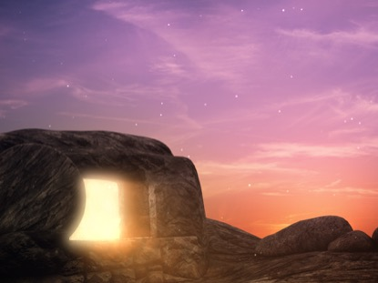 EASTER SUNRISE TOMB CLOSE