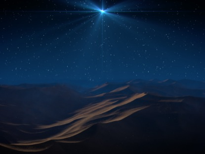 FOLLOW CHRISTMAS STAR SLOW