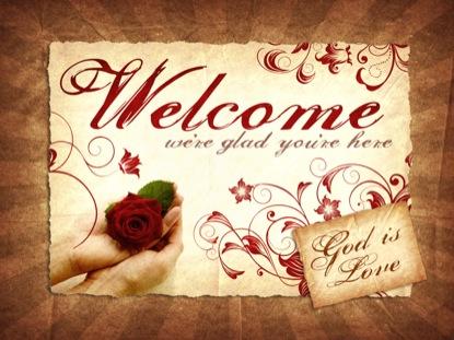 GOD IS LOVE WELCOME LOOP